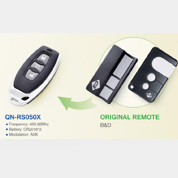 QN-RS050X compatible with B&D