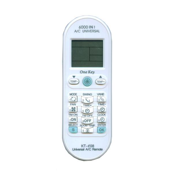 Air Conditioner Universal Remote Controls: KT-e08